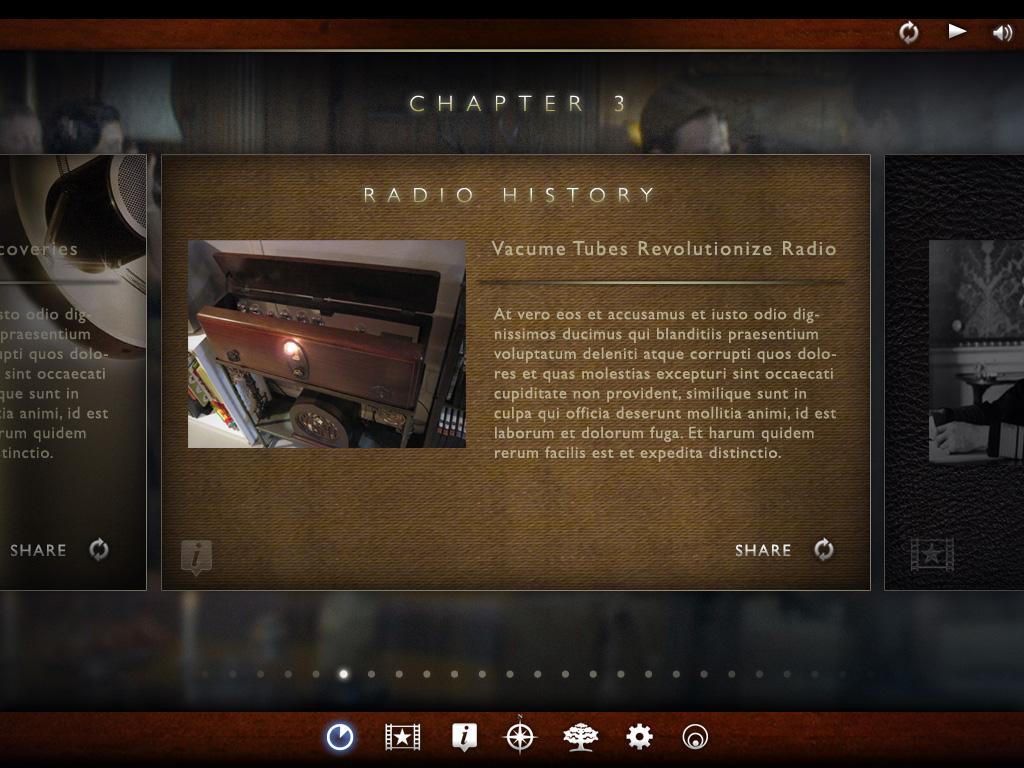 The King's Speech Second Screen UI