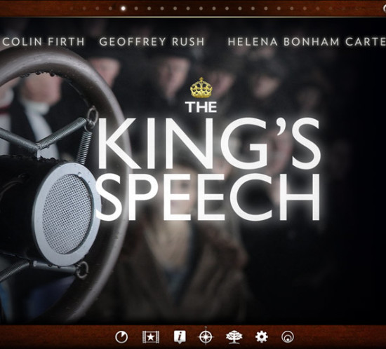 The King's Speech Second Screen UI