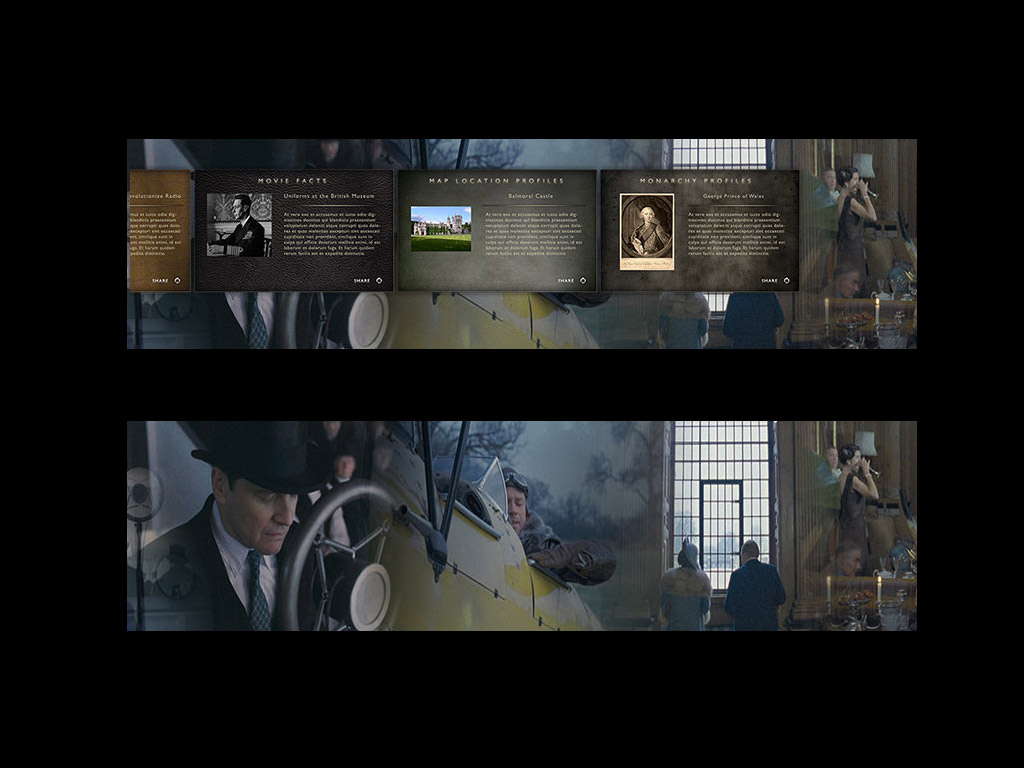 The King's Speech Second ScreenUI